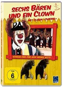 """Sechs Bären und ein Clown - Mit Clown """"Zwiebel"""" (DEFA-Synchronisation)"""