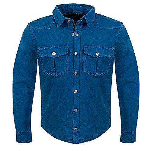 GERMAS Kevlar de camisa Rider * WP * Azul, tamaño 2X L