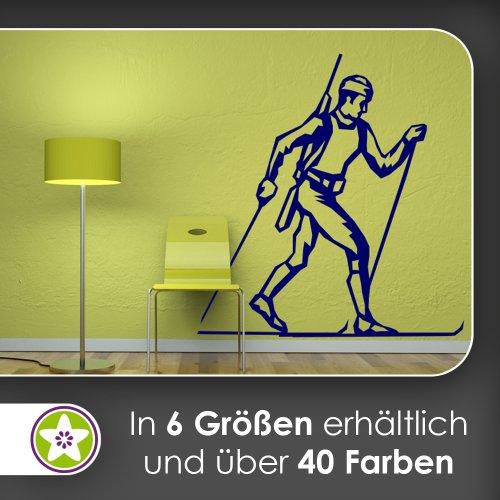Langläufer Wandtattoo in 6 Größen - Wandaufkleber Wall Sticker