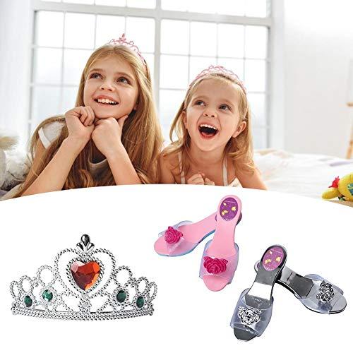 Prinzessin Kostüme Zubehör Mädchen Dress up Zubehör Set für Party, Cosplay Princess Jewelry Set Best Weihnachtsgeschenk for (Fairy Princess Dress Up Kostüm)