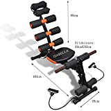 #4: ISABELLA Six pack abs exercise machine/ exercise equipment machine 20 different mode for exercise and fitness