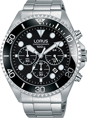 Lorus Men's Analogue Quartz Watch with Stainless Steel Strap RT319GX9