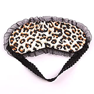 Atdoshop Sleeping Mask Sleep MaskSexy Lace Leopard Print