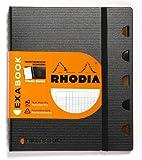 Rhodia - Organizzatore personale Exabook con spirale, formato A5, 160 pagine