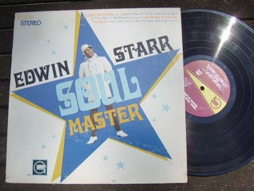 Starr-soul Edwin Master (EDWIN STARR LP, SOUL MASTER, US ISSUE PRE-OWNED VG/VG CONDITION LP)