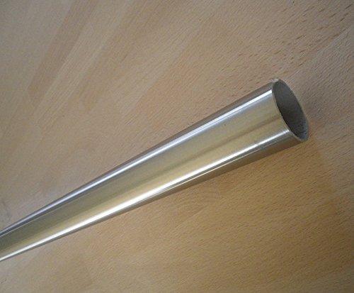 Edelstahl Rundrohr d=42,4x2mm (20-500cm) (090cm)