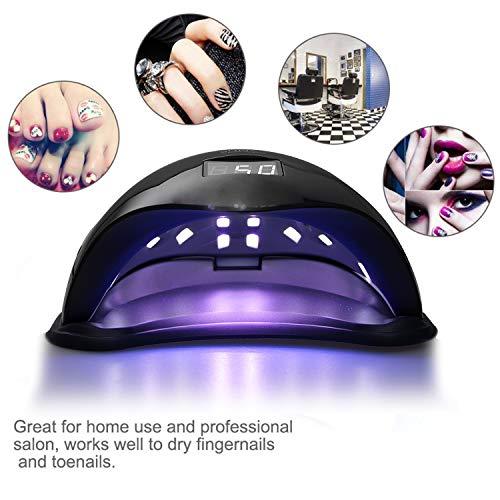 Vinteky® 48W Secador uñas Lámpara LED Manicura