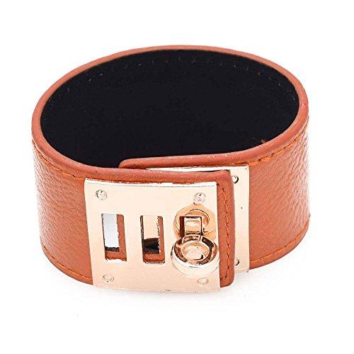 braccialetto-cuoio-polsino-fermaglio-dorato-kelly-in-cuoio-arancione