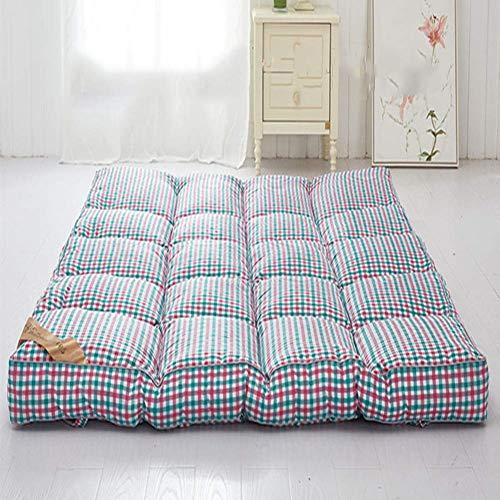Traditionelle Futon-matratze (Chengxxx Schlafende Tatami-Fußmatte Zusammenklappbare weiche Dicke Matratzen Traditionelle Futon-Matte (Farbe : D, größe : 180x200cm(71x79inch)))