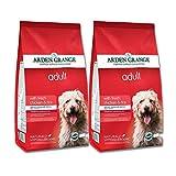 2x 12kg Arden Grange Huhn & Reis Adult Trockenfutter für Hunde AVSL Bügelkopfhörer