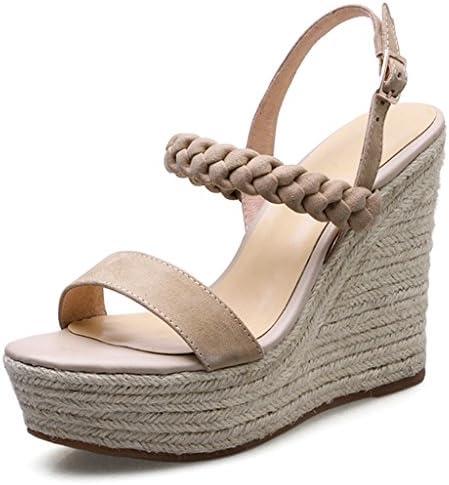 Sandalias de tacón alto / sandalias de cuña sandalias de moda de mujer de verano zapatos impermeables plataforma...