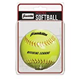 Franklin Women's Slow Pitch Softball for Practice - Yellow