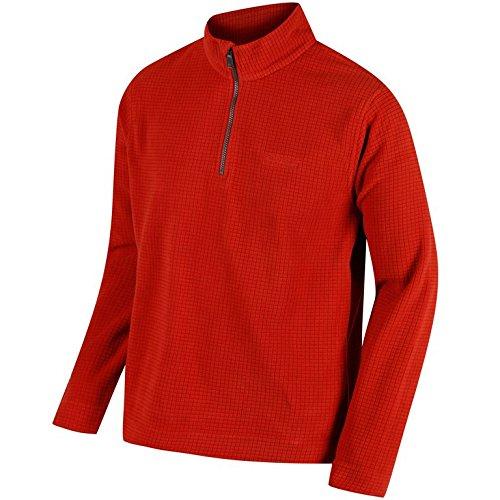 Regatta Mens Elgon III Quarter Zip Pull Over Casual Fleece Jacket - Quarter-zip Fleece Pullover