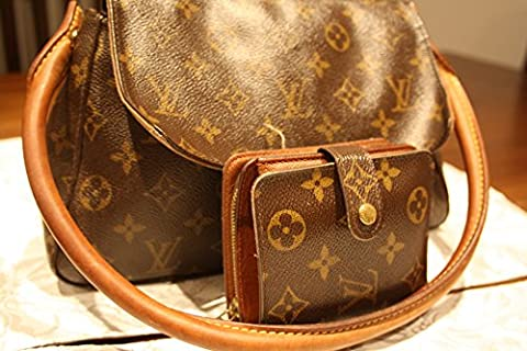Louis Vuitton Monogram Mini Loop Bag with matching LV wallet, only one owner, authentic 12 year old bag, preowned and