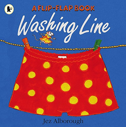 Washing Line por Jez Alborough