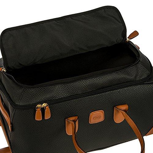 Bric's Magellano borsone di viaggio a ruote 55 cm black brown black brown