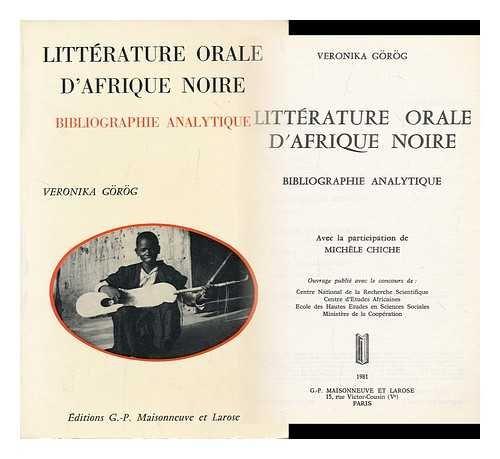 Littérature orale d'Afrique noire
