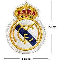 Parche bordado del club de fútbol del Real Madrid para plancharlo
