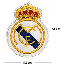Parche bordado del club de fútbol del Real Madrid para plancharlo 02f5290b09d55
