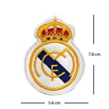 Real Madrid Football Club Logo bestickt Patch Eisen auf