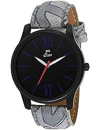 Eraa Black & Grey Analog Wrist Watch For Men