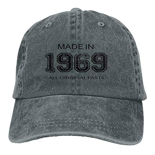 LINGVYTE Made in 1969 All Original Parts Adult Sport Adjustable Structured Baseball Cowboy Hat Womens Original Fit Denim