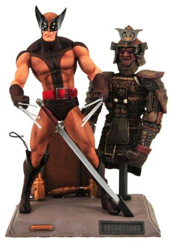Marvel Select X-Men - Actionfigur Wolverine Brown (X Men Uniform)