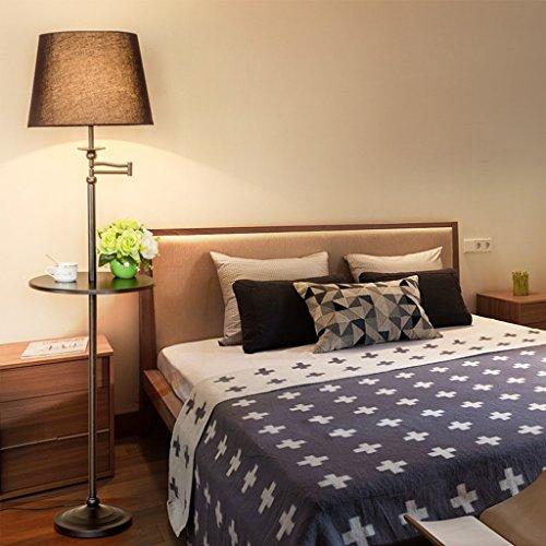 Protection des yeux Lampadaire pour enfants salon simple chevet chambre verticale set plateau américain canapé table basse lampadaire AA+