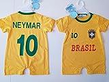 LE MANEGE ENCHANTE Body Foot BRESIL Neymar Neuf 2018, 6/9 Mois