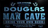 qa1257-b Douglas Man Cave Football Game Room Bar Neon Sign Barlicht Neonlicht Lichtwerbung