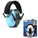 Casque Anti bruit Toennesen Enfant Cache-Oreilles Réduction de bruit pour Enfants et Bébé Protection Auditive pour la Réduction du Bruit Portable Confortable NRR 34 dB avec Bandeau Adjustable (bleu)