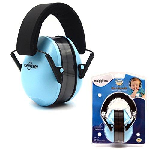 schützer Gehörschutz - Verstellbare Stirnband Ohrenschützer für Kinder Blau (Soft Side Tool Bag)