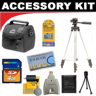 deluxe-elekshop-set-di-accessori-per-la-kodak-easyshare-max-sport-digital-camera