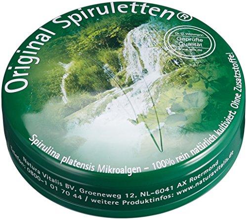 Original Spiruletten® 1700 - In Spirulettendose - Natura Vitalis - Gute Empfehlung