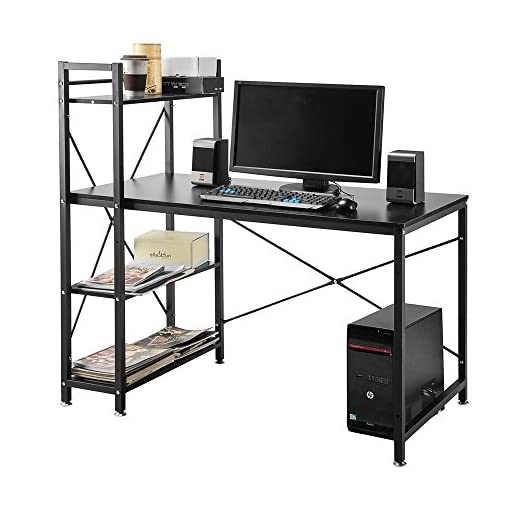 4 ripiani Scrivania per Computer da tavolo Workstation per Computer ...
