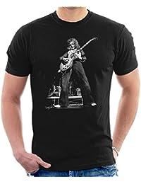 Dick Barnatt Official Photography - Paul Kossoff Of Free Guitar Solo Men's T-Shirt