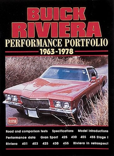 buick-riviera-performance-portfolio-1963-1978-brooklands-books-road-test-series-a-collection-of-arti