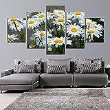 cmhai Lienzo Decoración para el hogar Marco de la Pintura Cuadros Modulares HD Impreso 5 Panel...