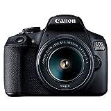 Canon EOS 2000D BK 18-55 EU26 DSLR Kamera, Siyah