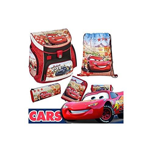Cars Schulranzen Set 5 tlg CAGR8252 Scooli 2017 Undercover Ranzen