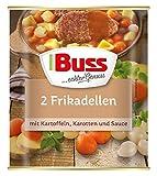 Buss 2 Frikadellen mit Kartoffeln, Karotten und Sauce, 6er Pack (6 x 800 g)