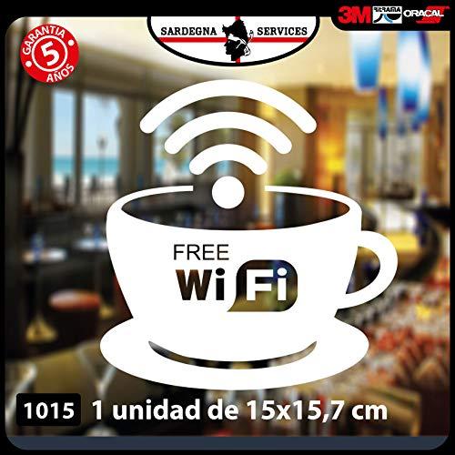 1Pegatina «Free WiFi» para Bar