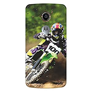 Bhishoom Printed Hard Back Case Cover for Moto X3 - Premium Quality Ultra Slim & Tough Protective Mobile Phone Case & Cover