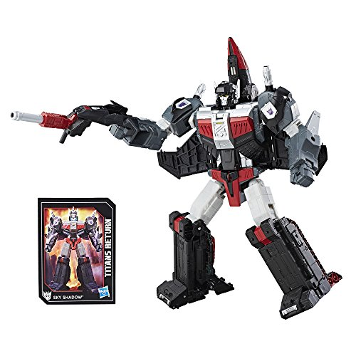 Transformers Generations Titans Return Leader Class Sky Shadow and Ominus Action Figure