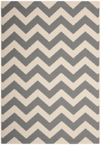 """Preisvergleich Produktbild Safavieh """"Sardinien"""" Indoor-/Outdoor Teppich, grau/beige, 160x 231x 0,64cm"""