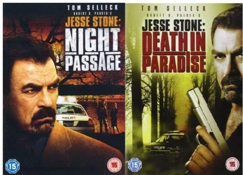 2er DVD-Set Jesse Stone: Night Passage und Death in Paradise (EU Import mit deutschem Originalton)