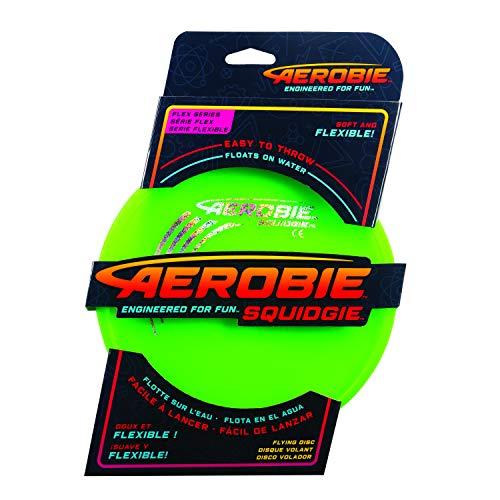 Aerobie 6046408 - Squidgie Disc, weiches Frisbee, mit Durchmesser, farblich sortiert, 20cm
