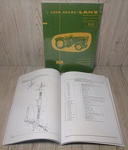 ERSATZTEILLISTE für John Deere-Lanz 300
