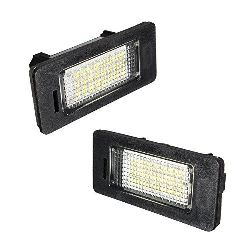 AMBOTHER® LED Kennzeichenbeleuchtung Auto Nummernschilder Licht E39 E60 E70 E90