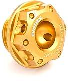 Evotech Tappo olio motore in ergal M20x1,5 Oro